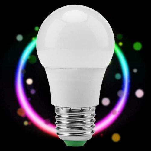 D6P7 RGB RGBW LED-Lampe Licht Farbwechsel 15W E27 Lampen Fernbedienung