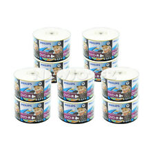 500 Pack Philips Blank 16x White Inkjet Hub Printable DVD-R Disc Wholesale Bulk
