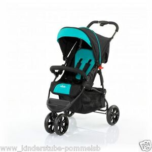 ab 6 monate abc design liegebuggy buggy 3 s 3 r drig jogger sportbuggy petrol ebay. Black Bedroom Furniture Sets. Home Design Ideas