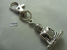 A 3D Thai Buddha Budda Keyring, Key Chain Handbag, Bag, Purse Charm Zip Puller