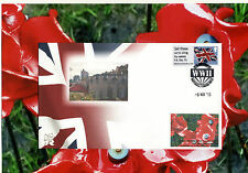VE DAY 70th Anniversary. NMRN stamp. 8th May WW11 anniversary Special Handstamp