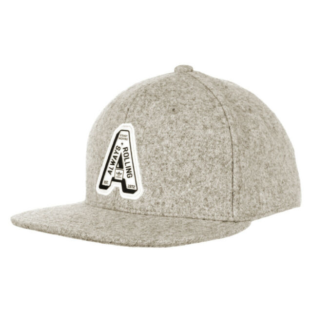 adidas Always Rolling 6 Panel Adjustable Cap Grey With Tags for sale ... 08f0726dd4f