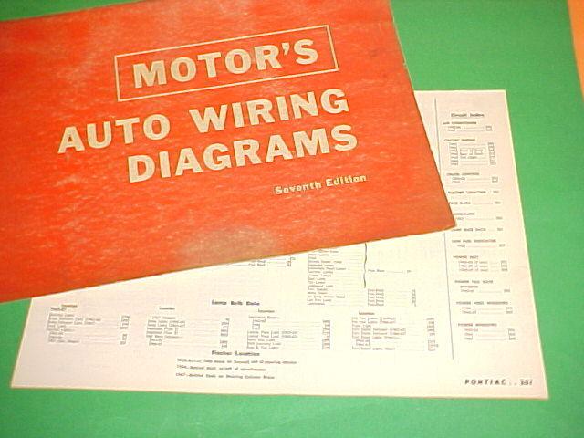 1963 1964 1965 1966 1967 Pontiac Grand Prix Bonneville Catalina Wiring Diagrams