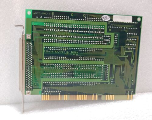 PC Used 9859A // PCI CARD 1pcs CONTEC // PIO-32//32L