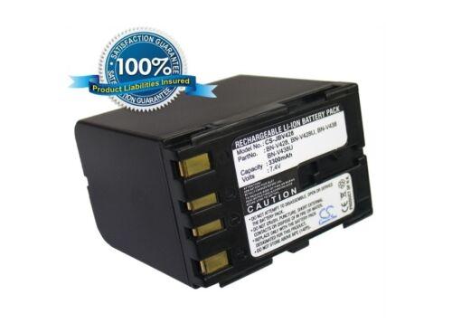 Battery for JVC BN-V428U BN-V438U BN-V428 GR-DVL200 BN-V438 GR-DVL970 GR-DVL160E