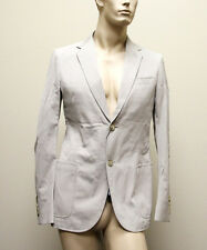 $1550 New Authentic GUCCI Mens Jacket Blazer 50R/US 40R Beige