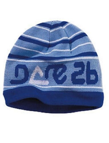 Dare2b Kid/'s /'Playtime/' Blue Winter and Ski Wear Beanie Hat.