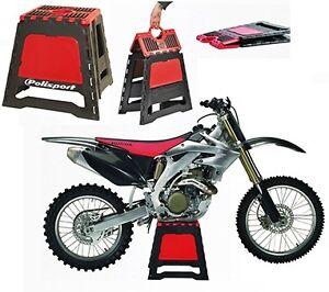 b quille de stand pliable polisport support pont leve moto cross enduro bike ebay. Black Bedroom Furniture Sets. Home Design Ideas