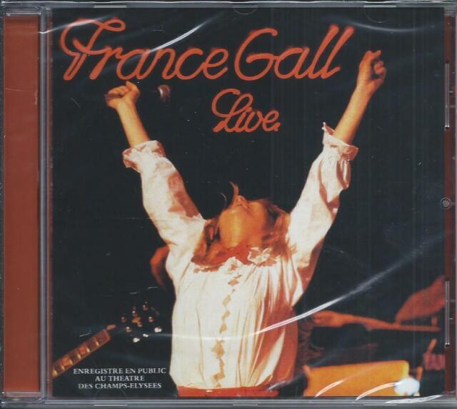 CD France Gall Live Théâtre des Champs Elysées Neuf sous cellophane