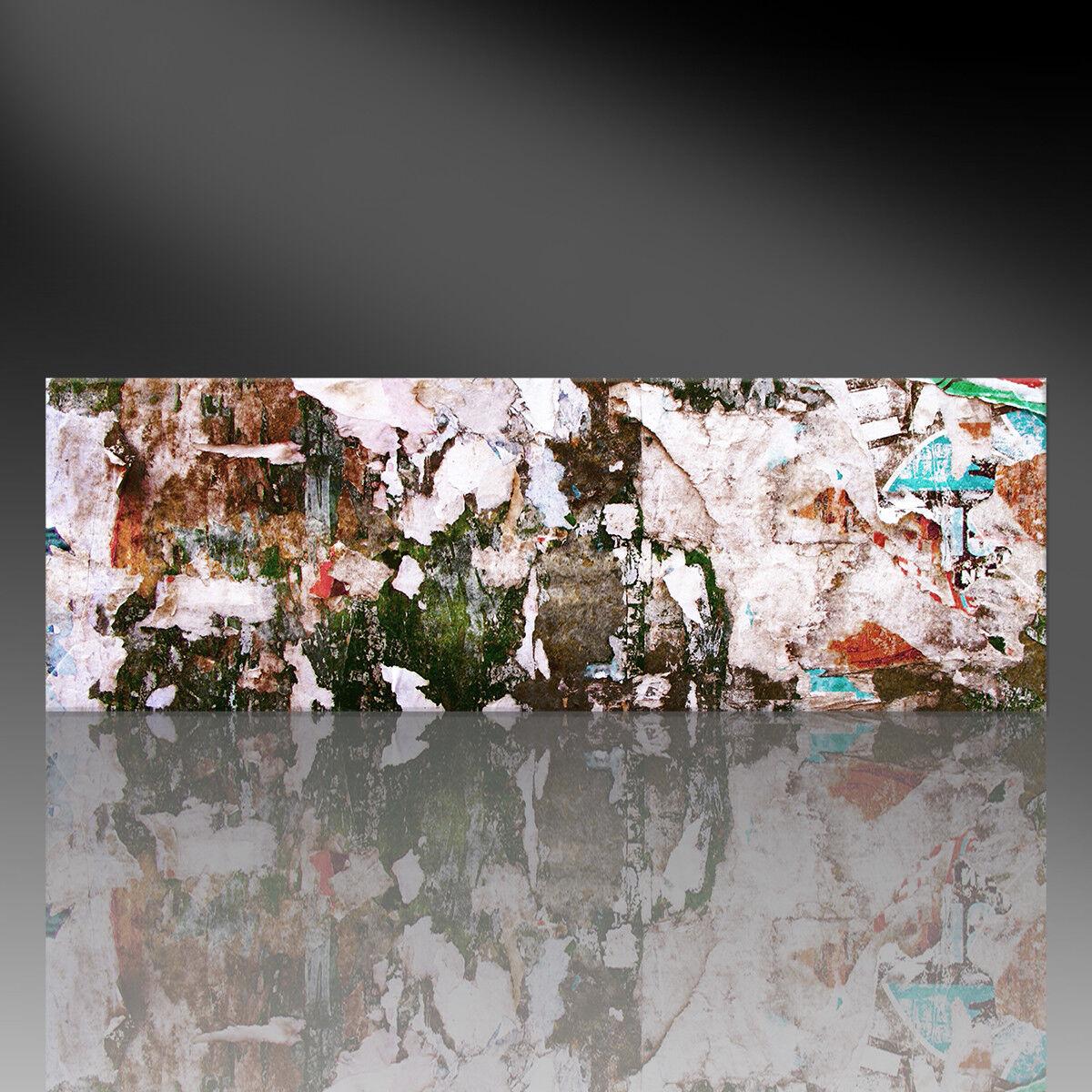 Kunstdruck auf Leinwand - Abstract HANARI - Abstrakt (div. Größen) Street Art