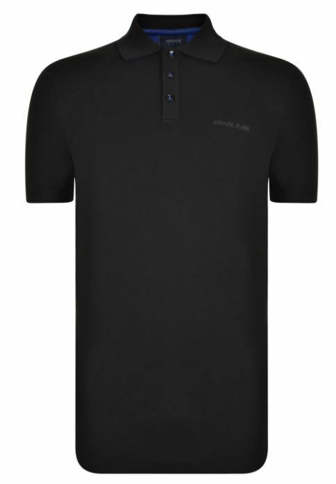Armani Jeans bi-color men's polo shirt size M