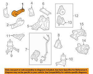toyota oem venza engine motor transmission mount torque rod strut rh ebay com 2015 Toyota Venza 2014 Toyota Venza