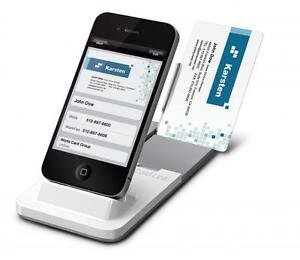 Details Zu Penpower Worldcard Link Visitenkarten Scanner Für Iphone 4 4 S