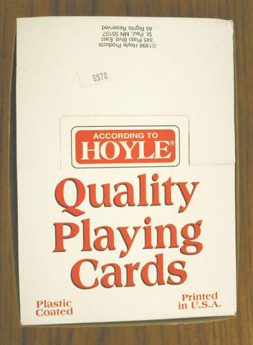 SEALED       ZHOY-6970 NEW CASE OF 12 HOYLE MILLER BEERS  PLAYING CARDS