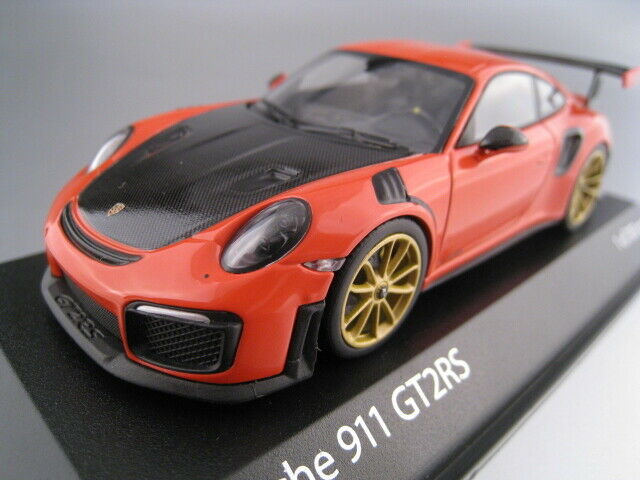 Porsche 911 gt2rs lavaNaranja limitado a 300 unidades 1 43 Minichamps 410067229