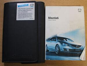 mazda 6 mazda6 handbook owners manual wallet 2008 2010 pack 15272 ebay rh ebay co uk mazda 6 2008 owners manual pdf mazda 6 2008 service manual