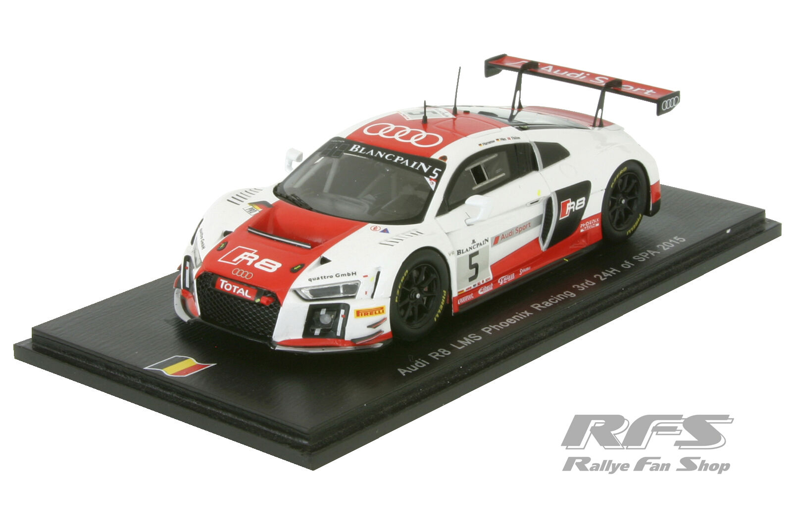 Audi r8 LMS ultra - 24 hours of spa 2015-mamerow Mies - 1 43 Spark sb110