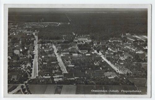 AK  ORANIENBAUM um 1935  Luftbild Fliegeraufnahme