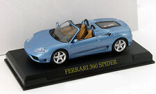 Ferrari 360 Spyder azul 1:43 Altaya