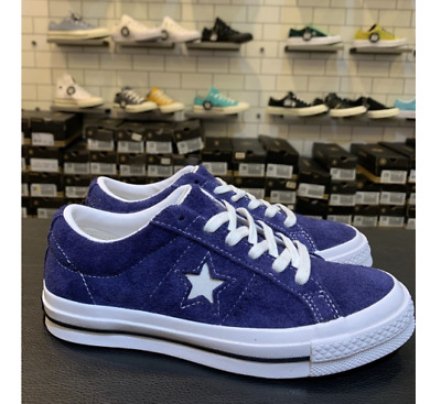 Converse One Star Low OX Eclipse White White Sneakers Shoes 162576C Sz 5 10 | eBay