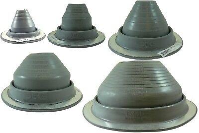 4 Round Gray Epdm Flexible Pipe Flashing Dektite Metal Roof Jack Pipe Boot Metal Roofing Pipe