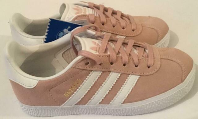 online store c7492 c378d ADIDAS GIRL S GAZELLE TRAINERS - PINK SUEDE - BY9548 - BRAND NEW - VARIOUS  SIZES