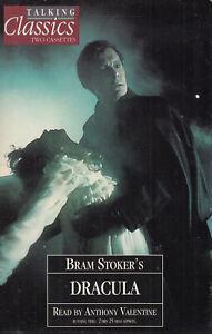 Bram-Stoker-Dracula-Talking-Classics-2-Cassette-Audio-Book-Abridged-FASTPOST