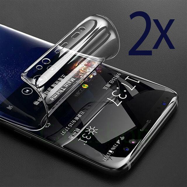 2x Samsung Galaxy S8 / S8 Plus Panzer Folie Display Schutz Folie Cover 3D KLAR