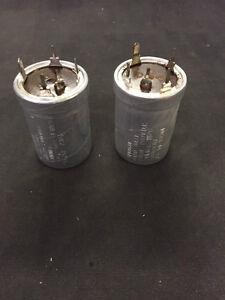 Capacitor-200uf-200v-Aluminium-Case-Military-Spec-Sprague-68D10607-Old-MOD