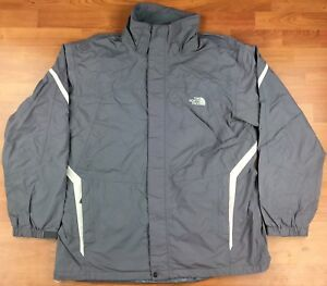 The-North-Face-HyVent-Embroidered-Full-Zip-Men-s-Rainwear-Jacket-Size-XL