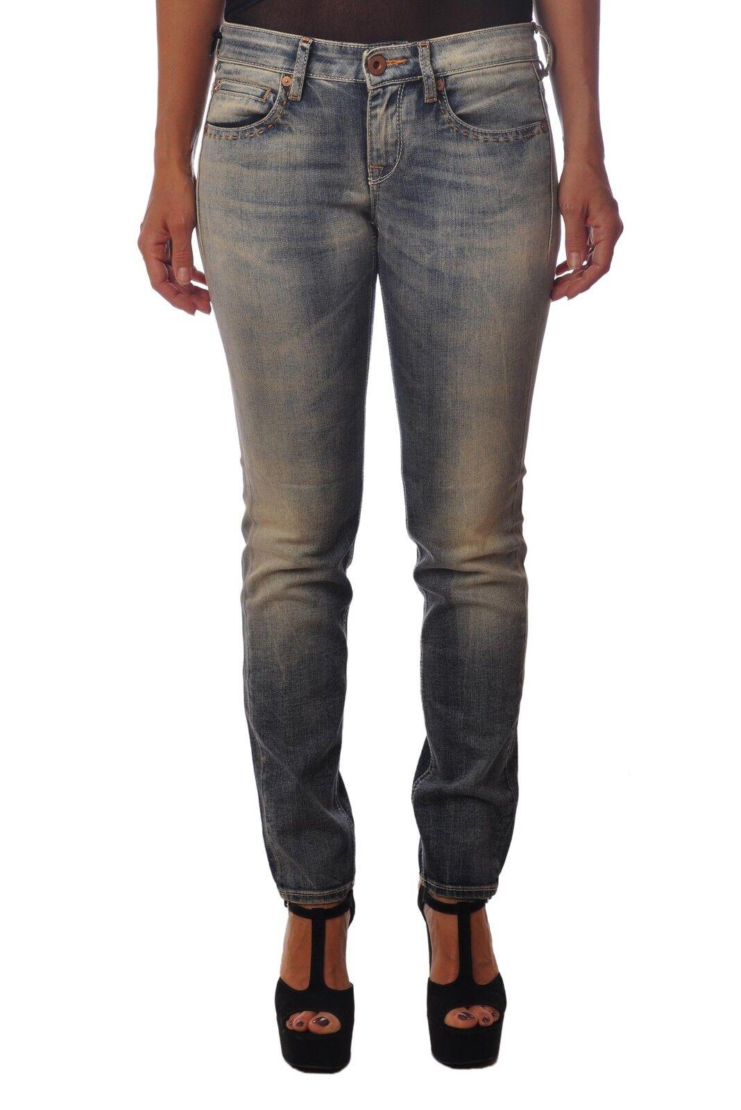 Latinò - Jeans-Pants - Woman - bluee - 3820101L181249