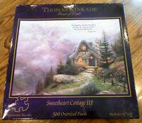 Ceaco Stillwater Bridge Thomas Kinkade Jigsaw Puzzle 500 Oversized Pieces - 021081023023