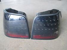 Schwarz LED Rückleuchten VW Golf 4 Rücklichter PAAR E-Zeichen
