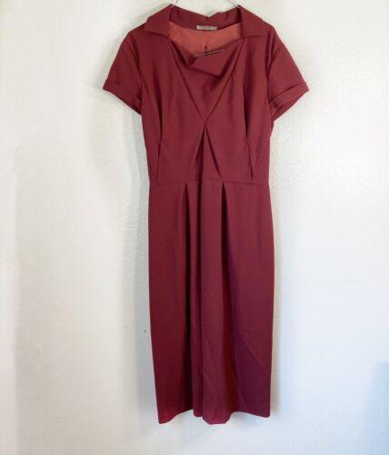 Bottega Veneta Womens Sheath Linen Dress Sz XL