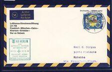 53430) LH FF Frankfurt - Entebbe 30.12.66, SoU ab Berlin EF 50PF Wofa zentr. o