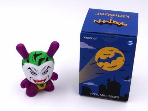 THE JOKER DC DUNNY SERIES MINI VINYL TOY FIGURE KIDROBOT X BATMAN