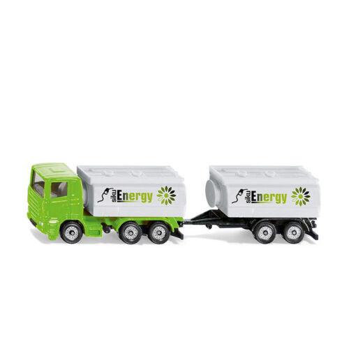 ° nuevo Siku 1690 camiones con camión cisterna construcción y colgante blanco//verde blister