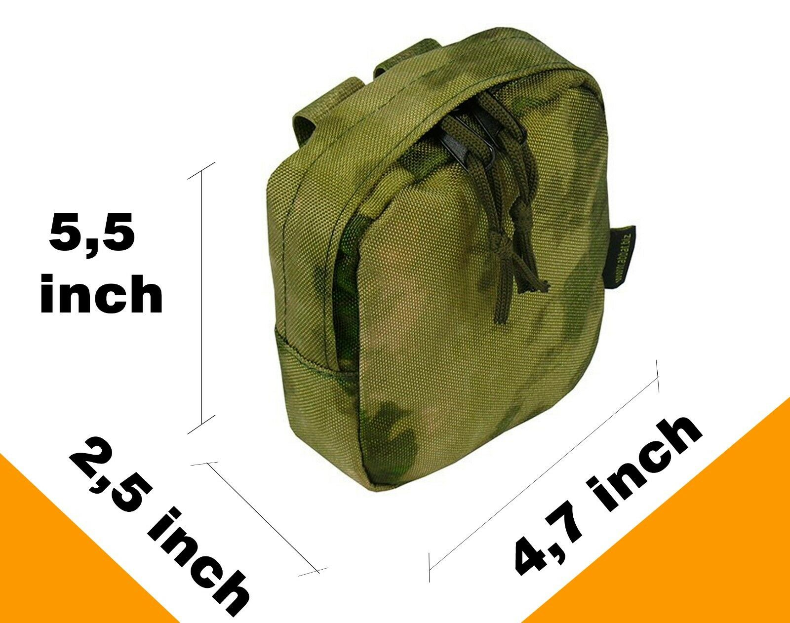 Molle Paintball Airsoft Modular Pecho plataforma Chaleco Chaleco Chaleco milsim Kit № 53 Atacs A-tacs Fg a70f09