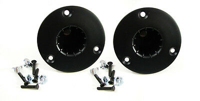 2 Pack Penn Elcom M1557//M20 Threaded Pole Mount Top Hat