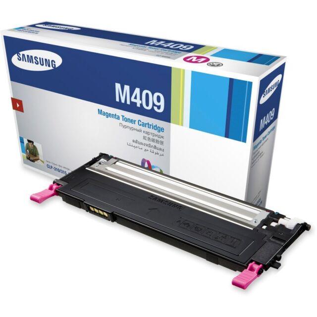 Samsung Genuine CLT-M409S MAGENTA Toner (SU274A) For CLP310 CLX3170 1,000 Pages