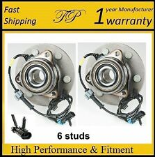 FRONT Wheel Hub Bearing Assembly for GMC Savana 2500 (4WD 4X4) 2003 - 2005 PAIR