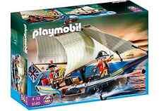 playmobil 5140 PIRATEN Rotrock Kanonensegler for Pirates Pirat Schiff Segelboot