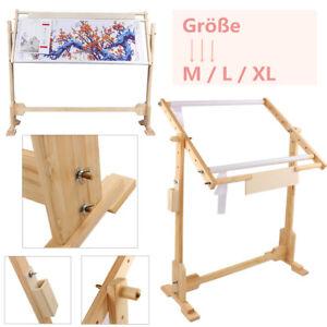Holz-Stickrahmen-Kreuzstich-Staender-Stickrahmenstaender-fuer-Stickereien-3-Groessen