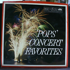 POPS-CONCERT-FAVORITES-VINYL-RECORD-ALBUM-READERS-DIGEST-RCA-ITALIANA-ORCHESTRAS
