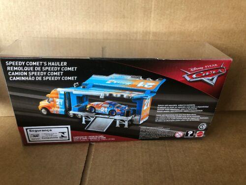 Disney Cars Diecast-CARS 3-Speedy Comet/'S HAULER-frais de port Combiné