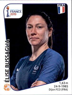 GroßZüGig Panini Frauen Wm 2019 Sticker 33 - Elise Bussaglia - Frankreich