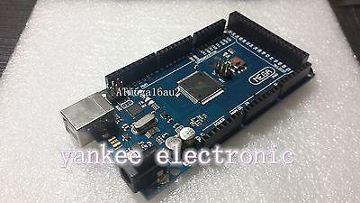ATMEGA2560-16AU ATMEGA16U2 Board + Free USB Cable For ARDUINO MEGA 2560 R3
