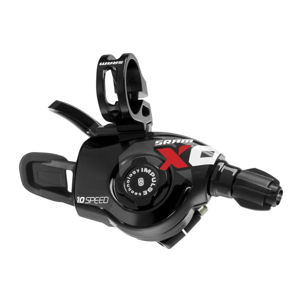 SRAM XO velocidad de 10 (3x10) Conjunto de Palanca de Cambios Gatillo Cambios Bicicleta Mountain Bike Rojo Negro