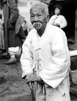 Photo. 1940s. Seoul, Korea. Old Man