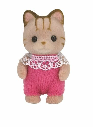 Sylvanian Families Calico Critters Dolls Animals Grayish cat baby ni-88 Japan